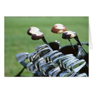Golf Club Card