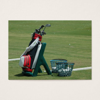 Golf Clubs Business Card