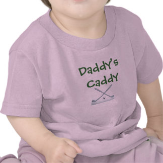 golf-clubs Daddy s Caddy T-shirts
