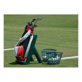 Golf Clubs Pack Of Chubby Business Cards