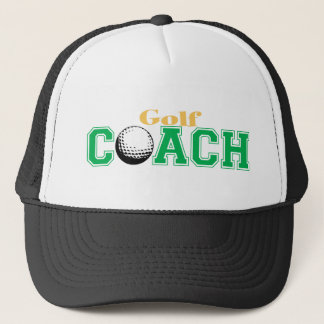 Golf Coach Trucker Hat