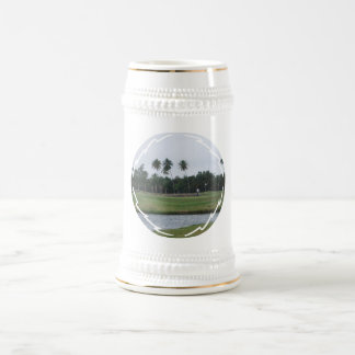 Golf Country Club Beer Stein