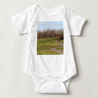 Golf Course Baby Bodysuit