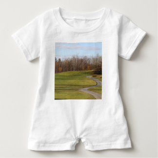 Golf Course Baby Romper