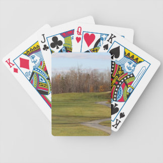Golf Course Bicycle Playing Cards