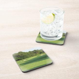Golf Course Cork Coaster