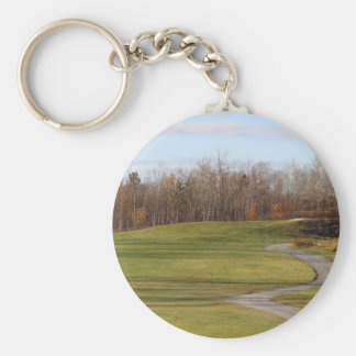 Golf Course Keychain