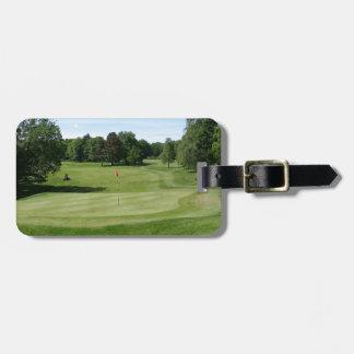 Golf Course Luggage Tag