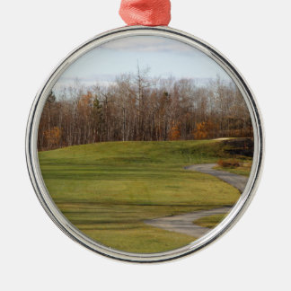 Golf Course Metal Ornament