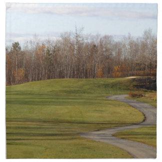 Golf Course Napkin