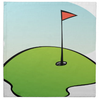 Golf Course Napkin