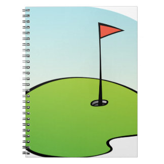 Golf Course Notebooks