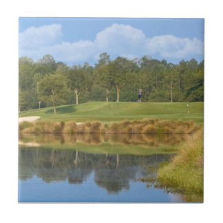 Golf Course on the Green Tile