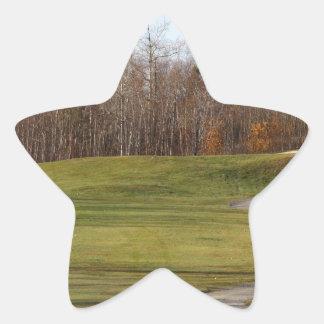 Golf Course Star Sticker