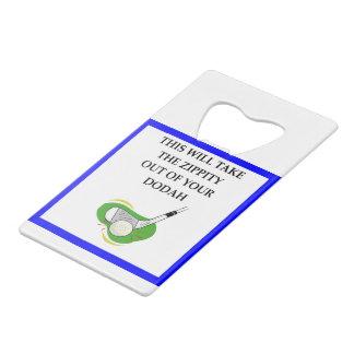 golf credit card bottle opener