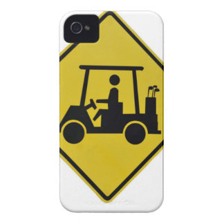 golf-crossing-sign Case-Mate iPhone 4 cases
