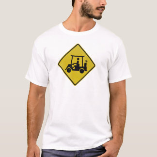golf-crossing-sign T-Shirt