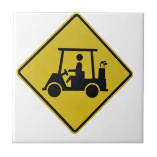 golf-crossing-sign tile