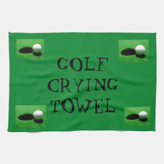 Golf Crying Towel