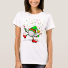 Golf Dancing Christmas Elf T-Shirt