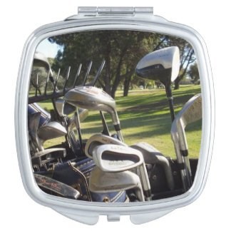 Golf Day Out, Ladies Compact Mirror