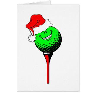 Golf de Noël Cartes