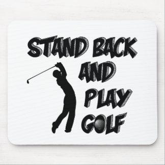 golf design mouse pad