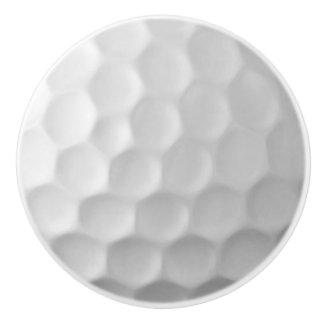 Golf Dimples Ceramic Door Knob