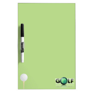 Golf Dry Erase Board