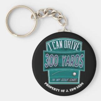 Golf Equipment ID Tag - Funny Golf Joke Keychain