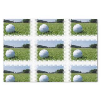 Golf Fairway Tissue Paper