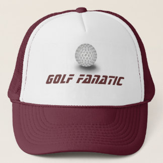Golf fanatic trucker hat