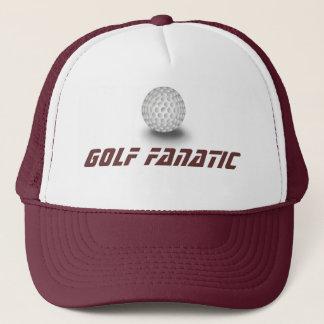 Golf fanatic trucker hat