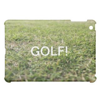 Golf field iPad mini cases