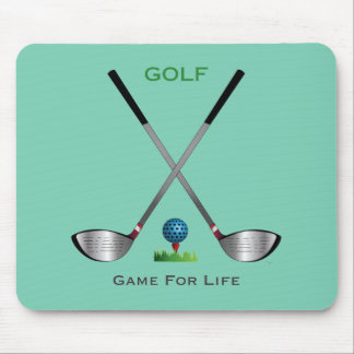 GOLF - Game for Life Mouse Pad