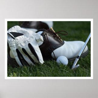 golf gear poster