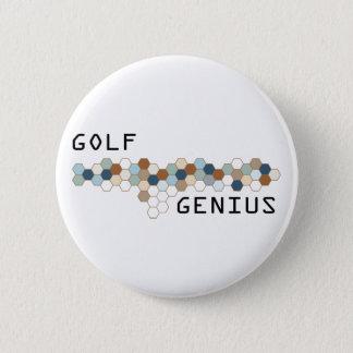 Golf Genius 2 Inch Round Button