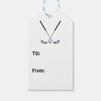 Golf Gift Tags
