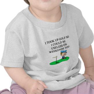 GOLF golfer joke Shirt