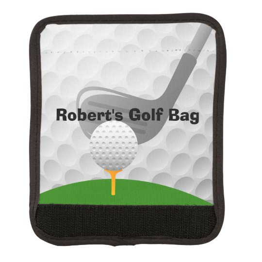 Golf Golfing Design Luggage Handle Wrap
