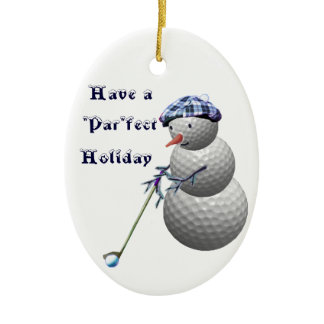 Golf Golfing Golfers Christmas Gifts Ornament