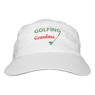 GOLF - GOLFING Grandma, Cool Adjustable Golf Hat