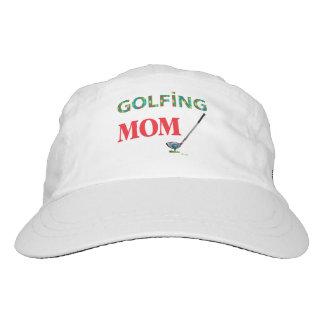 GOLF - GOLFING MOM, Cool Adjustable Logo Golf Hat