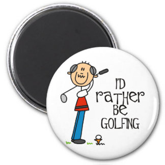 Golf Grandpa Gift Magnet