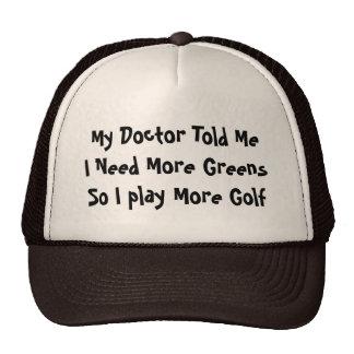 Golf Greens Trucker Hat