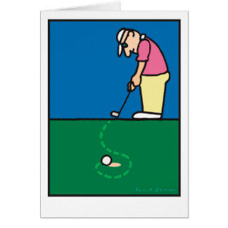 Golf Greetings 201803 Card