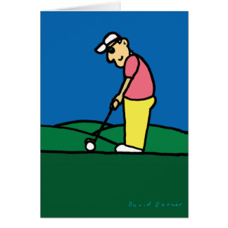 Golf Greetings 201805 Card