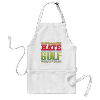 Golf Hate Standard Apron