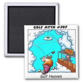 Golf Heaven Magnet