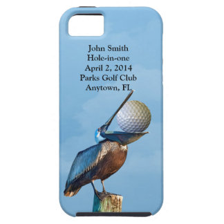 Golf Hole-in-one Commemoration Customizable iPhone 5 Cover